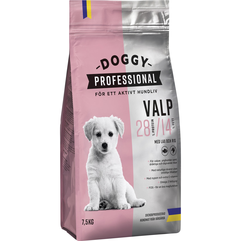 Hundfoder Doggy Professional Valp, 7,5 kg
