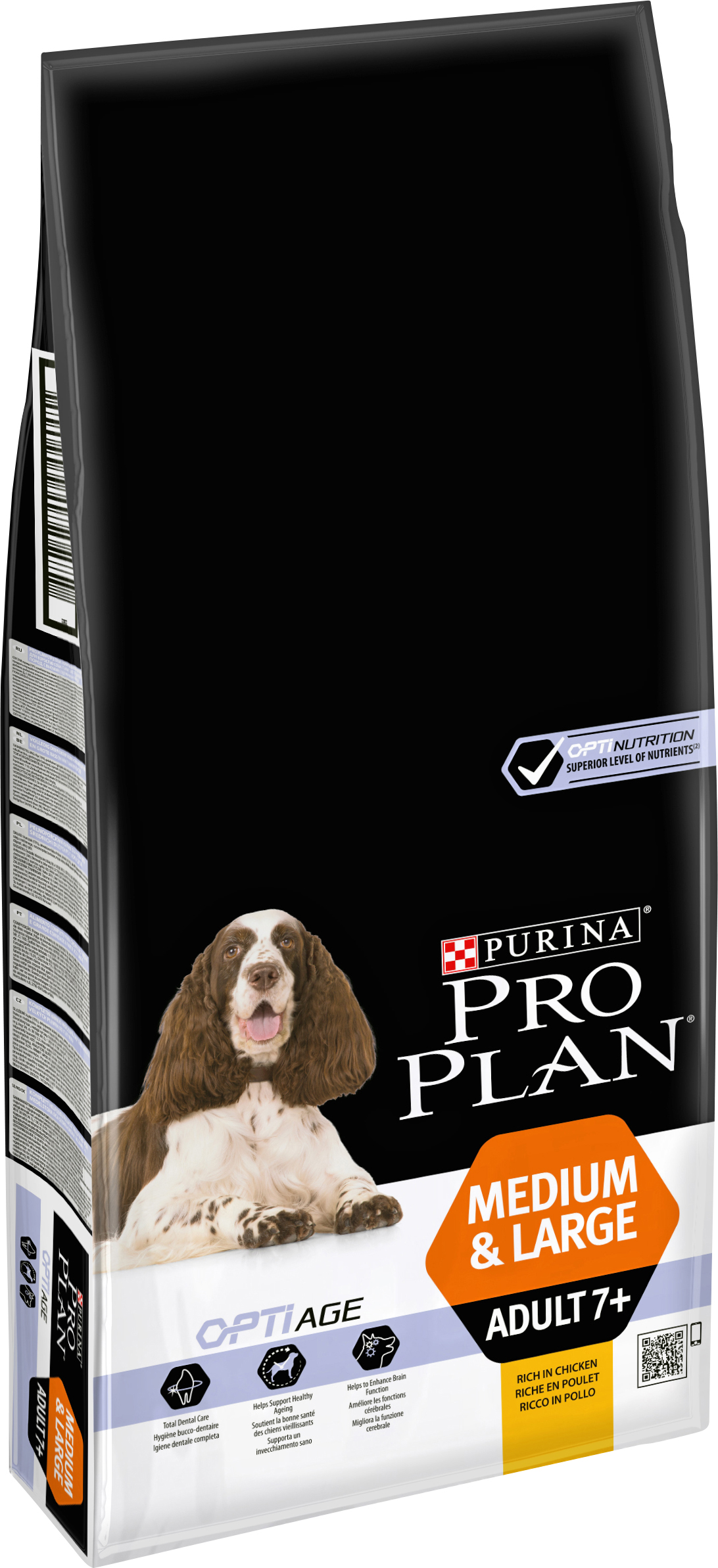 Hundfoder Pro Plan Medium & Large Adult 7+, 14 kg