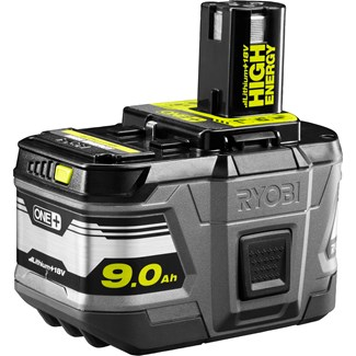 Batteri Ryobi One+ High Energy 9,0 Ah, 18 V