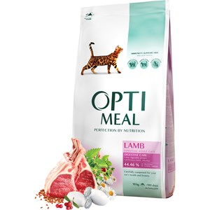 Kattmat Optimeal Adult & Senior Sensitive Digestion Lamb, 10 kg