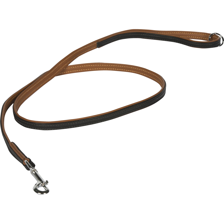 Hundkoppel Breeder's Läder Brun, 180 x 1,5cm