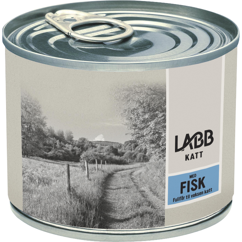 Kattmat Labb Fisk, 185 g