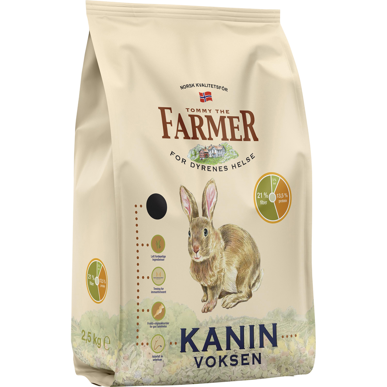 Kaninfoder Farmers Vuxen, 2,5 kg
