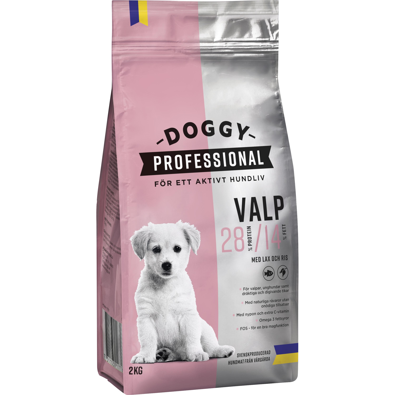 Hundfoder Doggy Professional Valp, 2 kg