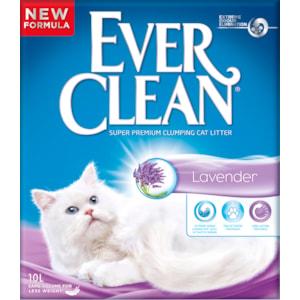 Kattsand Ever Clean Lavendel, 10 l