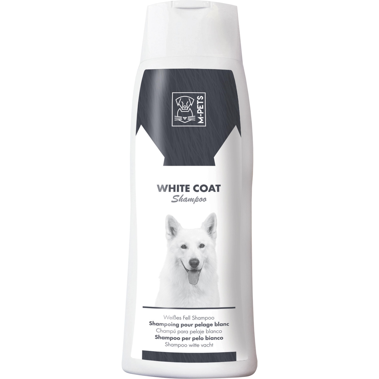Hundschampo M-Pets Vit päls, 250 ml