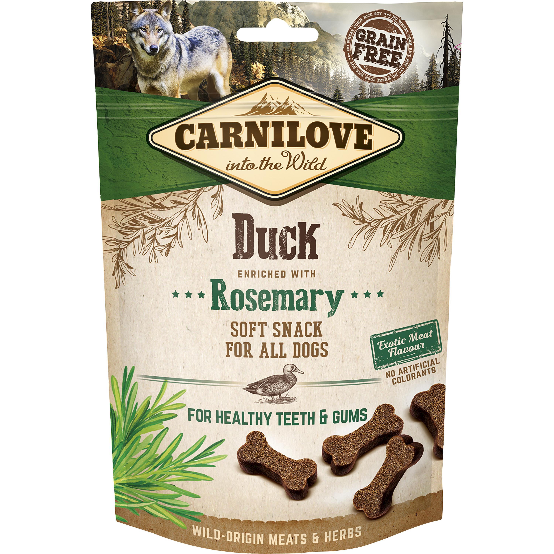 Hundgodis Carnilove Semi Moi Snack Anka, 200 g