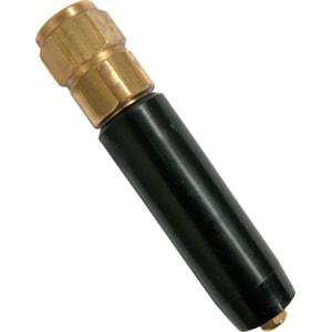 Rörventil Suevia till vattenkopp, svart/guld