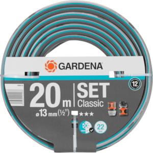 Vattenslangset Gardena Classic, 20 m 1/2