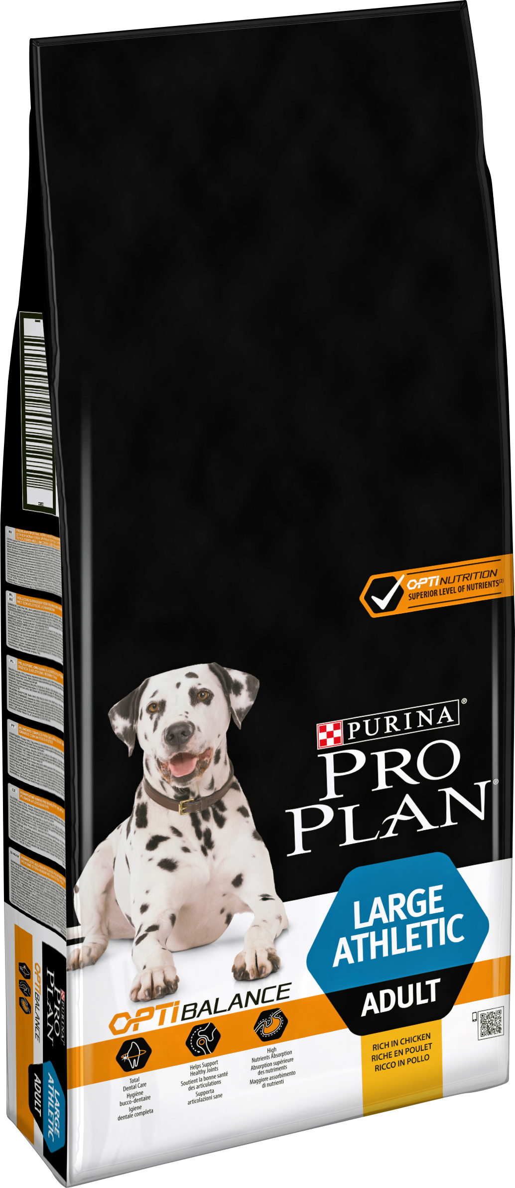 Hundfoder Pro Plan Large Adult Athletic, 14 kg