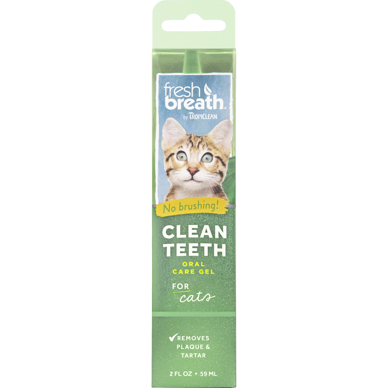 Tandvårdsgel TropiClean Katt, 59 ml