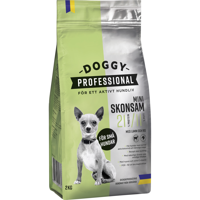 Hundfoder Doggy Professional Mini Skonsam, 2 kg