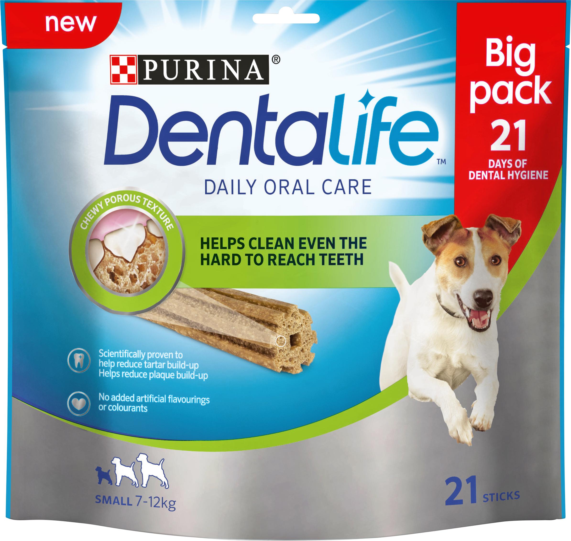 Hundtugg Purina DentaLife Small, 21-pack