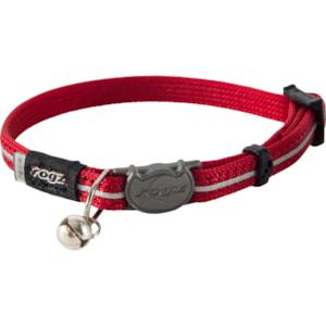 Katthalsband Rogz Alleycat med reflex Röd XS 16,5-23 cm