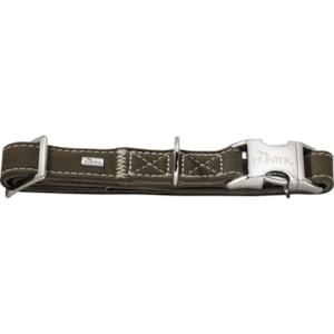 Hundhalsband Hunter Hunting Alu-Strong, Grön S 30-45 cm