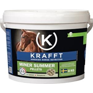 Hästfoder Krafft Miner Summer Pellets, 8 kg