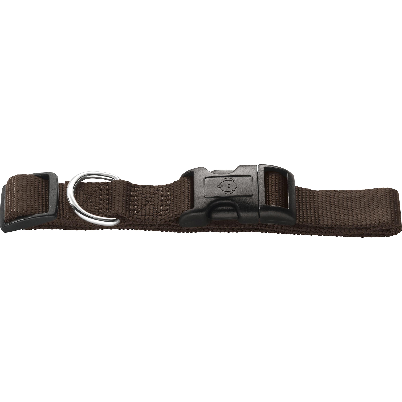 Hundhalsband Hunter Ecco Sport, Brun M 35-53 cm