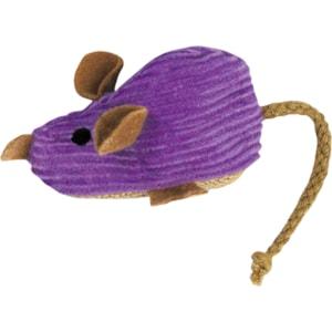 Kattleksak KONG Refillables Corduroy Mouse