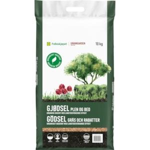 Gödsel Granngården Gräs och Rabatt, 10 kg