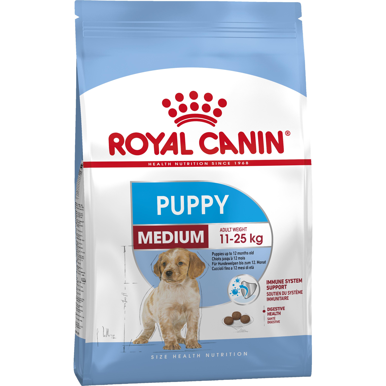 Hundfoder Royal Canin Medium Junior, 15 kg