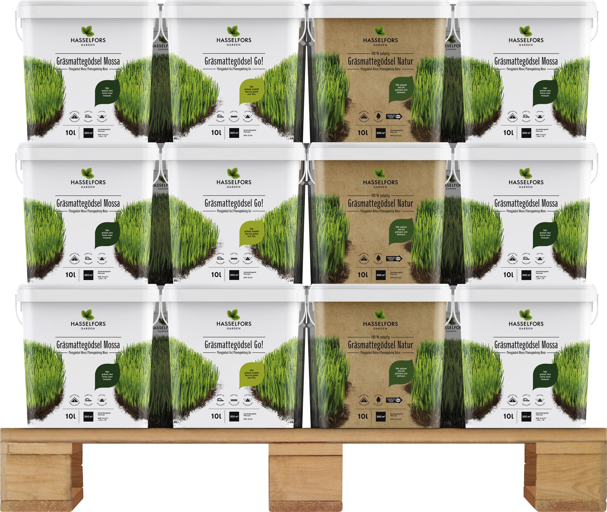 Gräsgödsel Hasselfors Mixpall, 480 liter (Hemleverans)