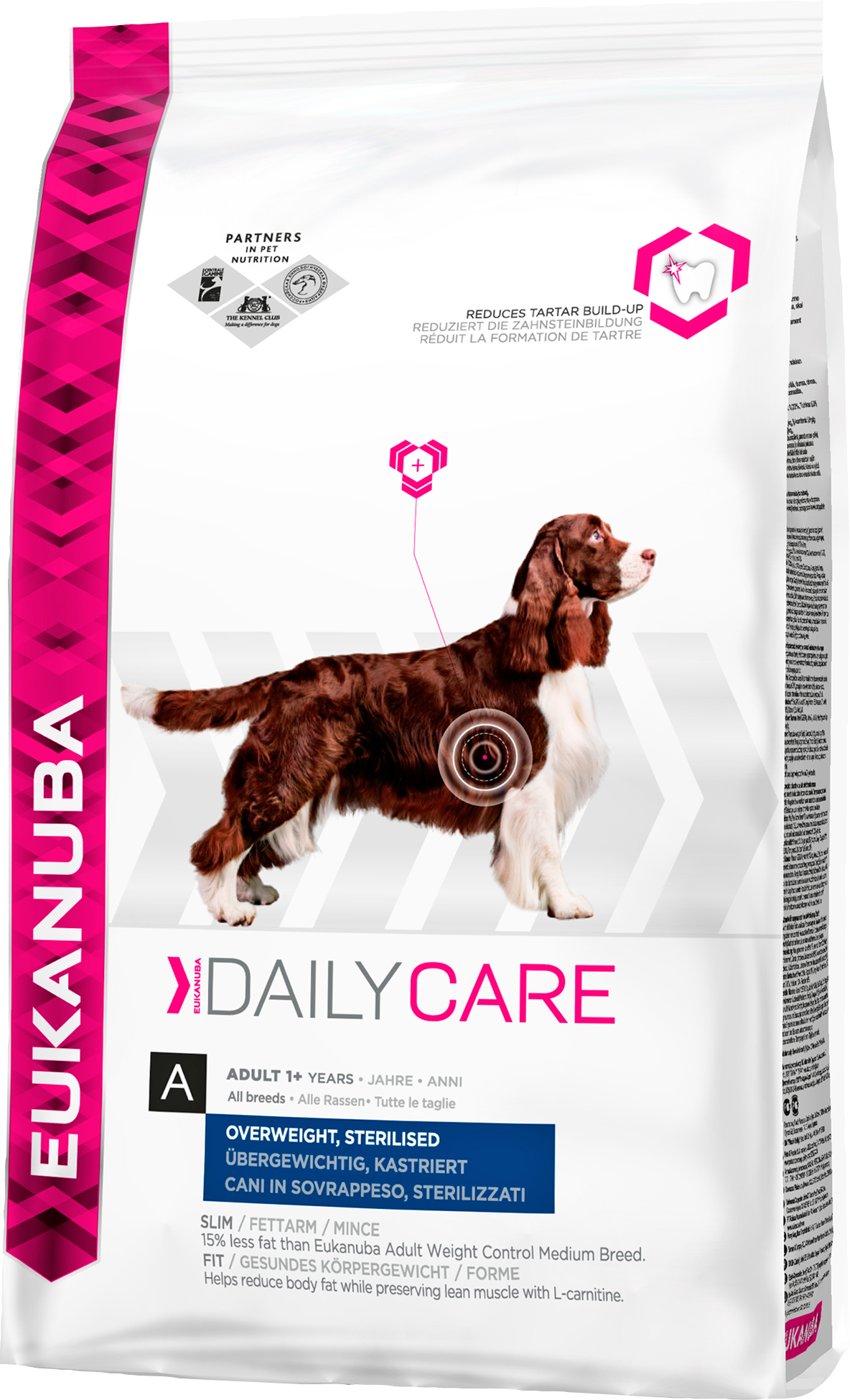 Hundfoder Eukanuba Everyday Adult 1+ Overweight Sterilized, 2,5 kg