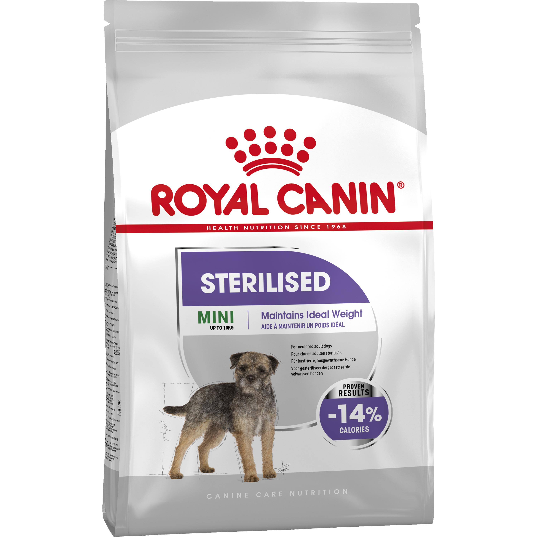 Hundfoder Royal Canin Mini Sterilised Adult, 8 kg