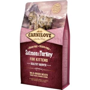 Kattmat Carnilove Kitten Healthy Growth Salmon & Turkey 2kg