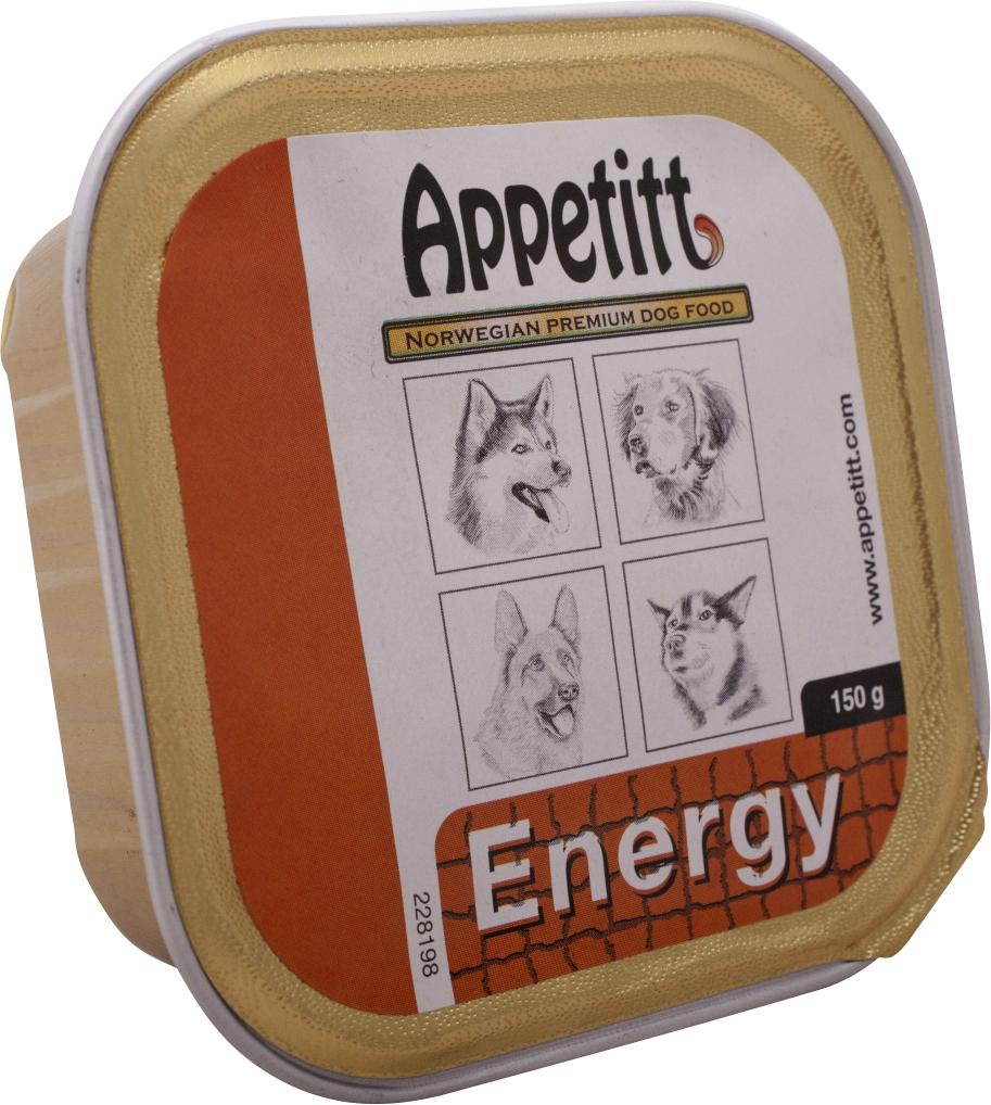 Hundfoder Appetitt Energy, 150 g