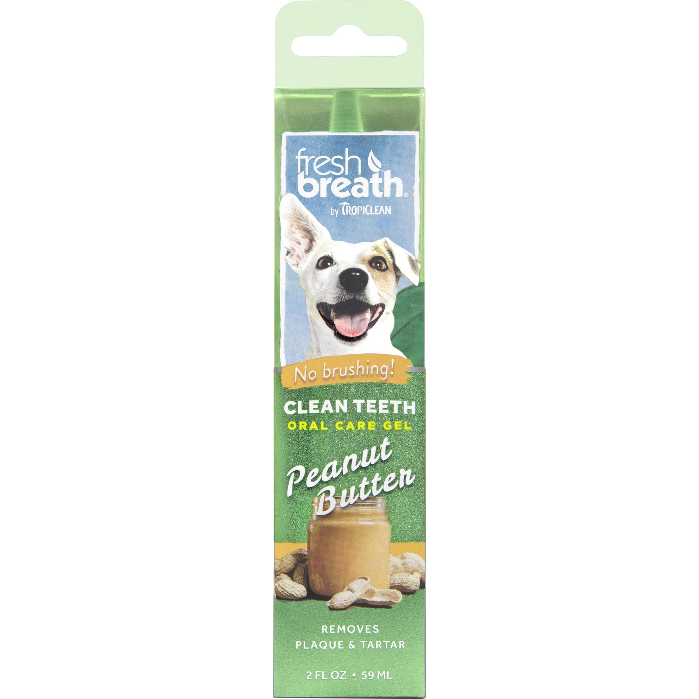 Tandvårdsgel TropiClean Peanut Butter 59 ml