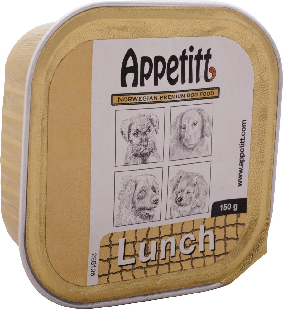 Hundfoder Appetitt Lunch, 150 g