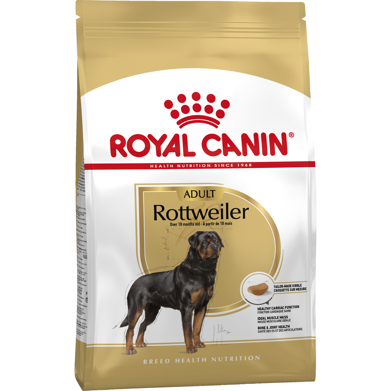 Hundfoder Royal Canin Rottweiler 26 Adult, 12 kg
