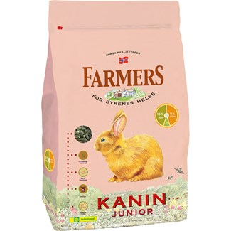 Kaninfoder Farmers Junior, 2,5 kg