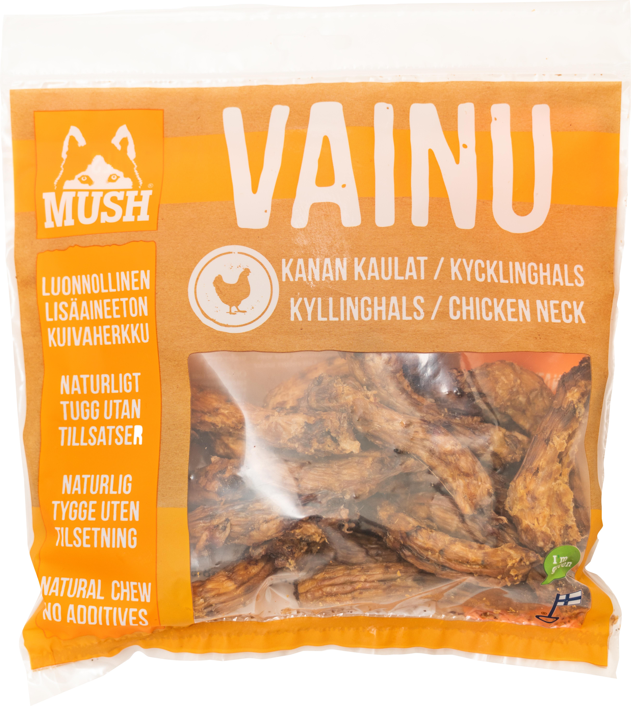 Hundtugg Mush Vainu Kycklinghals, 220 g