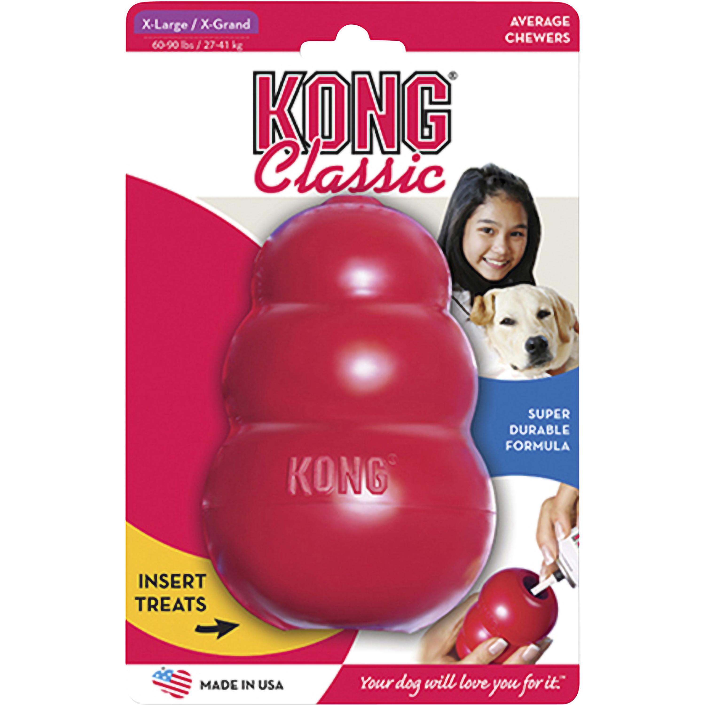 Hundleksak Kong Classic X-Large, Röd