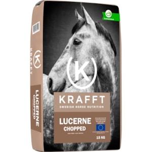 Hästfoder Krafft Lucerne Chopped, 15 kg