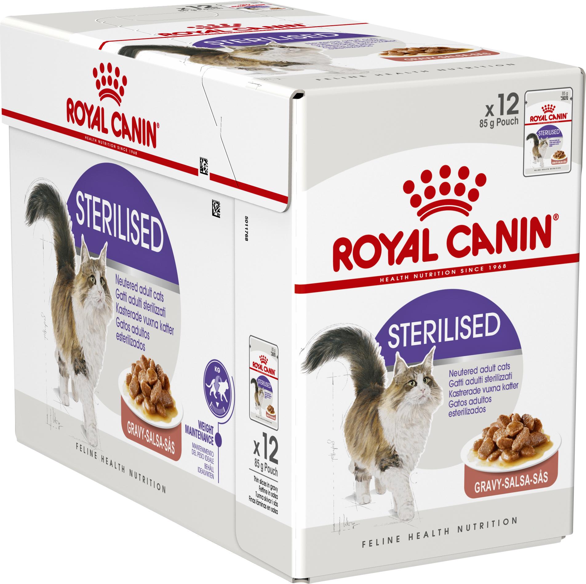 Kattmat Royal Canin Sterilised, 12-pack