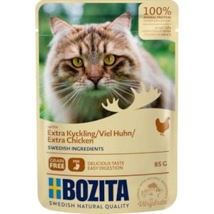 Kattmat Bozita Bitar i sås Kyckling, 85 g