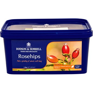 Fodertillskott Dodson and Horrell Rosehips, 1,5 kg