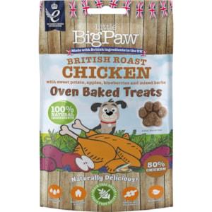 Hundgodis Little Big Paw Chicken, Potato, Apples, Blueberries & Herbs 130g