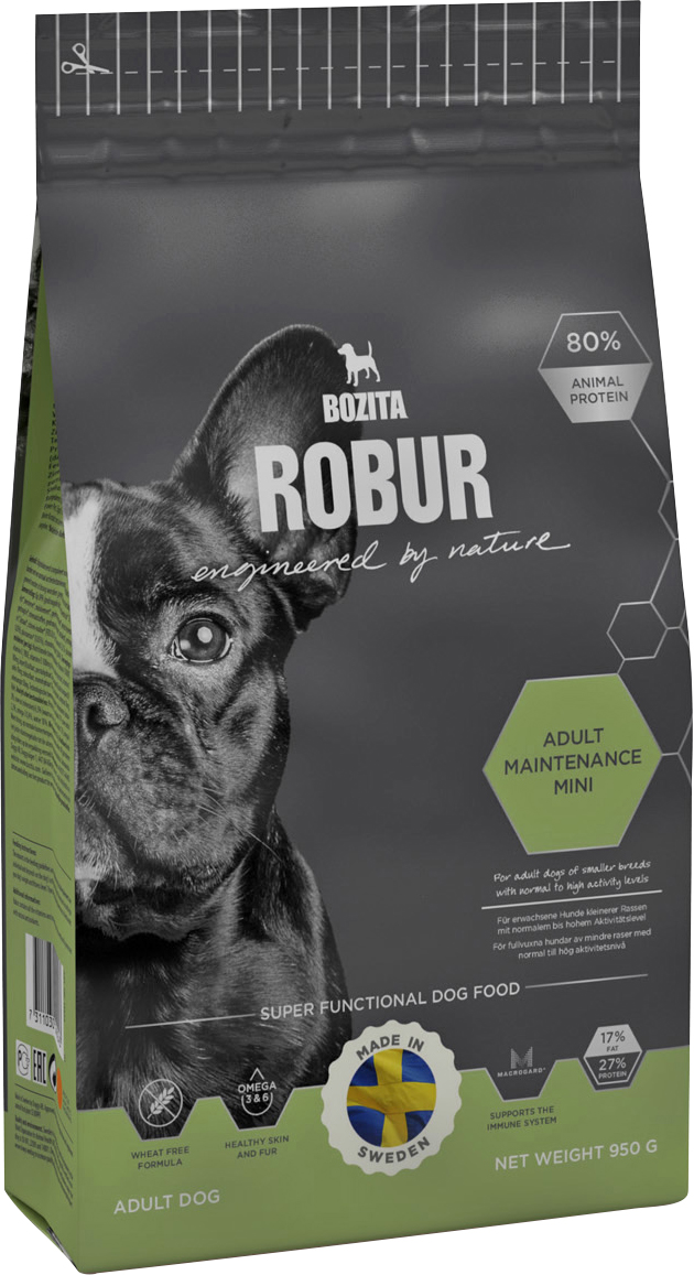 Hundfoder Robur Adult Maintenance Mini, 0,95 kg