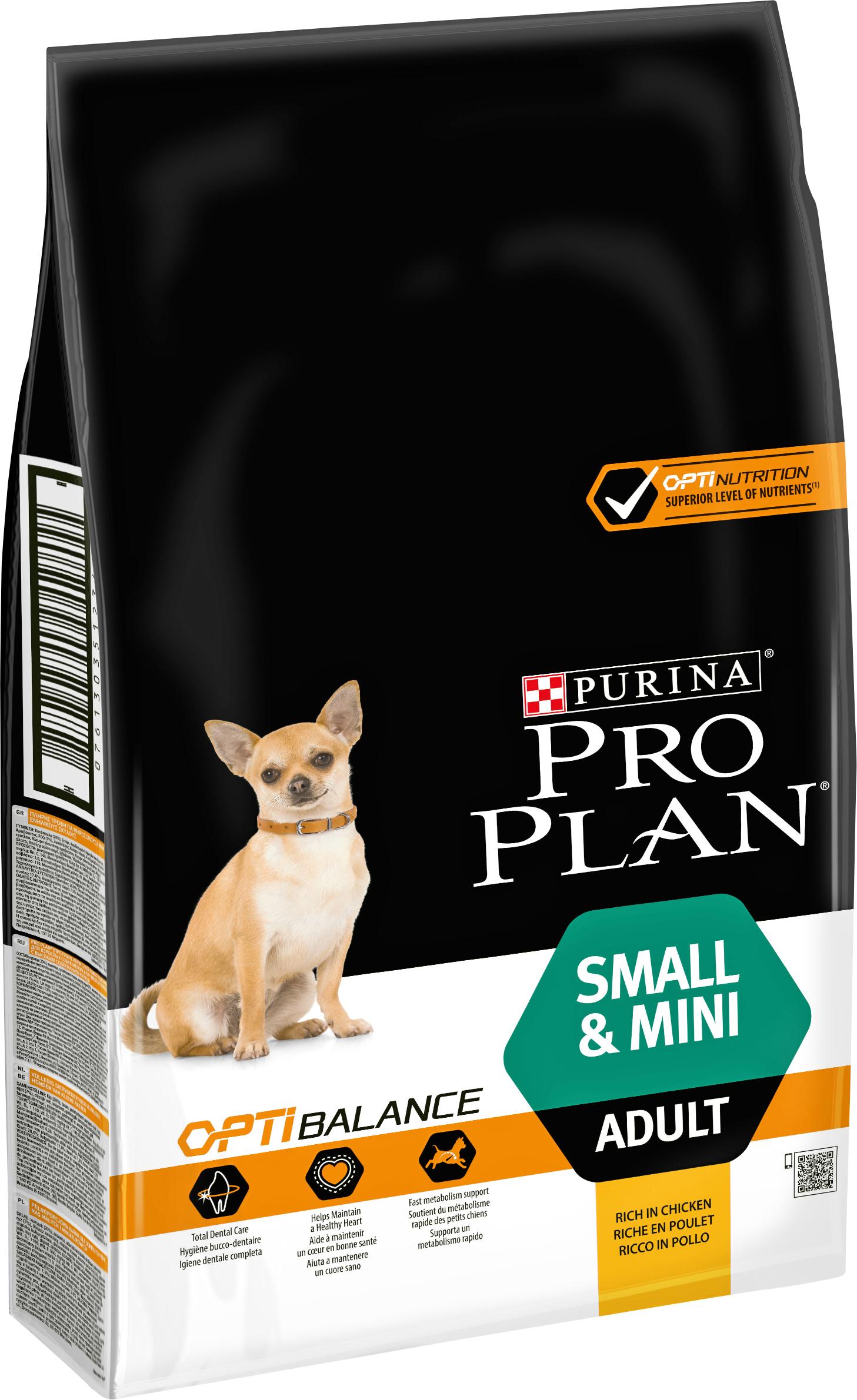Hundfoder Pro Plan Small & Mini Adult, 7 kg