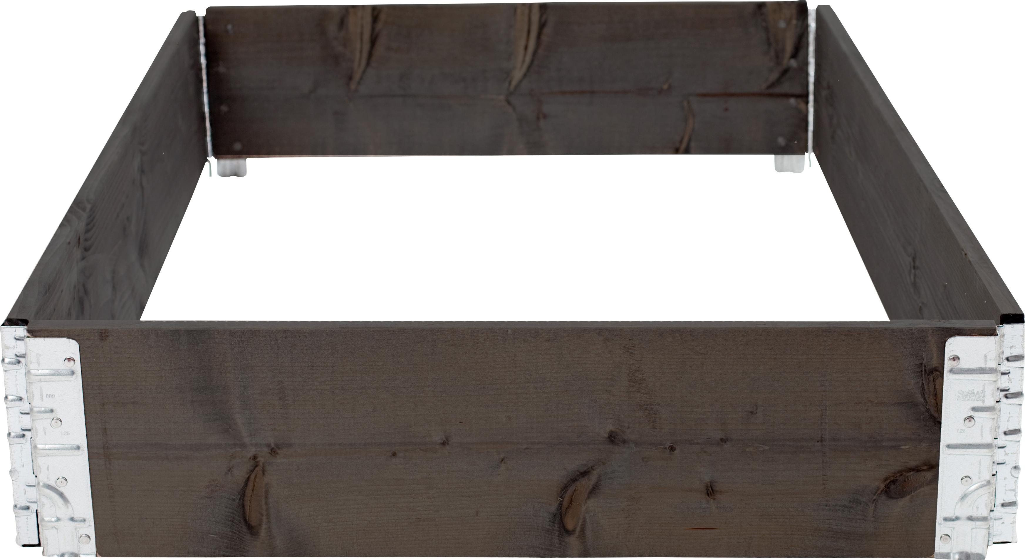 Pallkrage Granngården 800 x 1200 mm, Svart