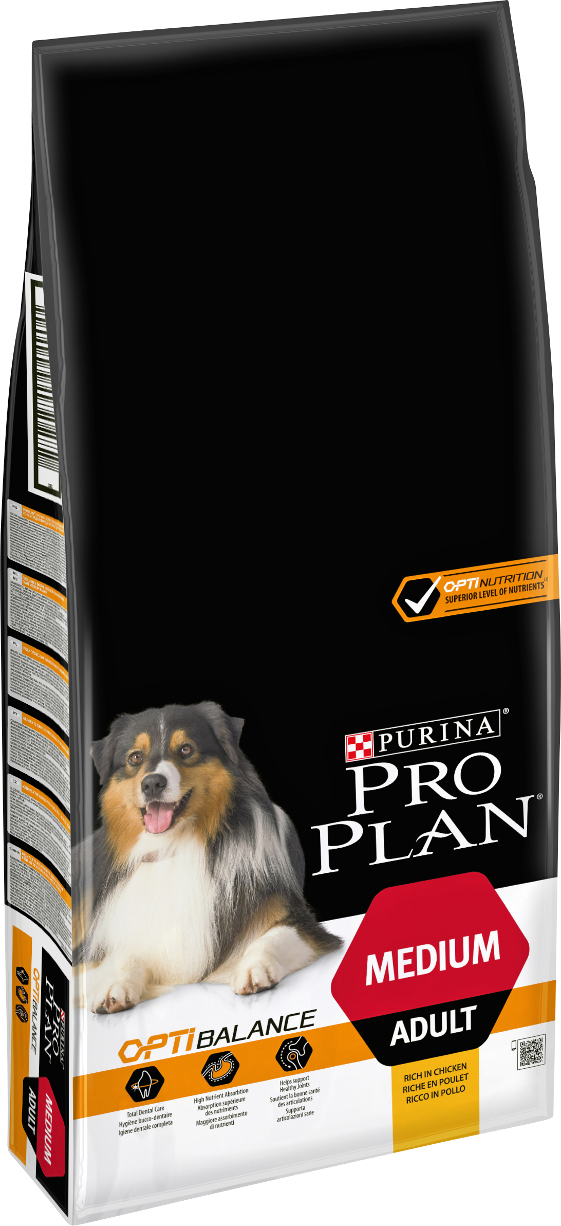Hundfoder Pro Plan Medium Adult, 14 kg