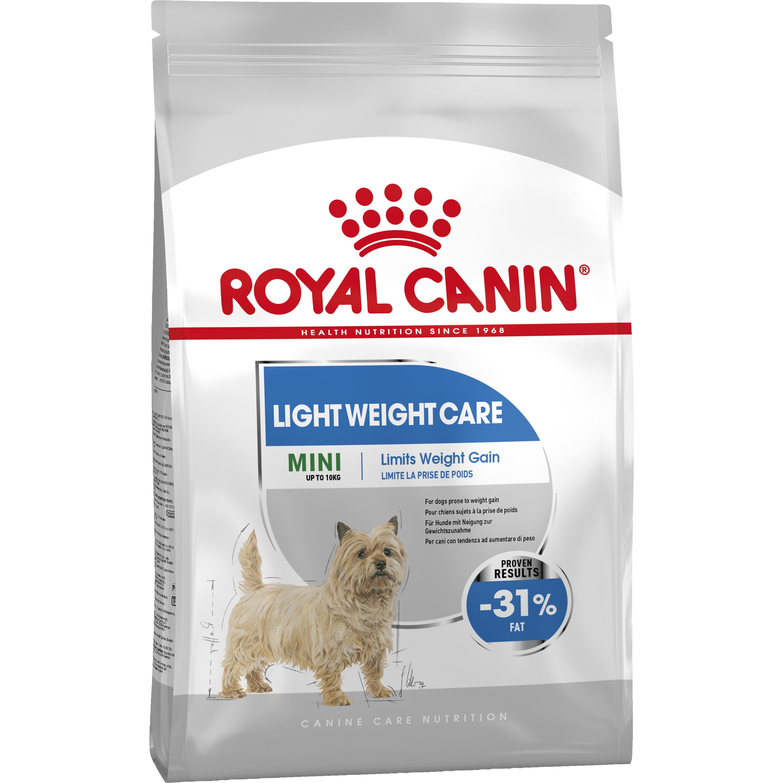Hundfoder Royal Canin Mini Light Weight Care, 8 kg