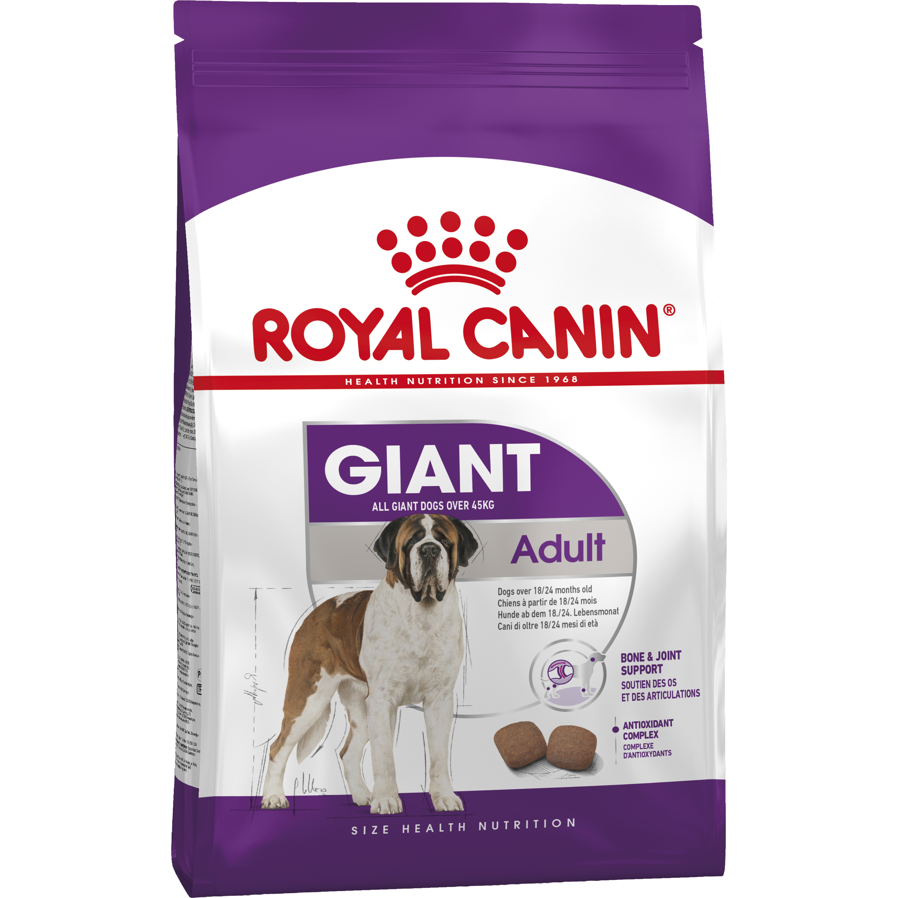Hundfoder Royal Canin Giant Adult, 15 kg