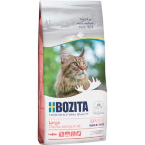 Kattmat Bozita Feline Large Lax, 2 kg