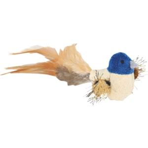 Kattleksak Trixie Fågel Med Fjädrar
