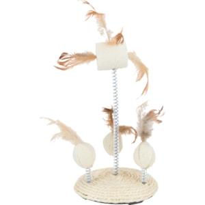 Kattleksak Trixie Fjäder på platta
