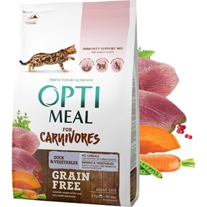 Kattmat Optimeal All Age Grain Free Duck & Veggies, 4 kg
